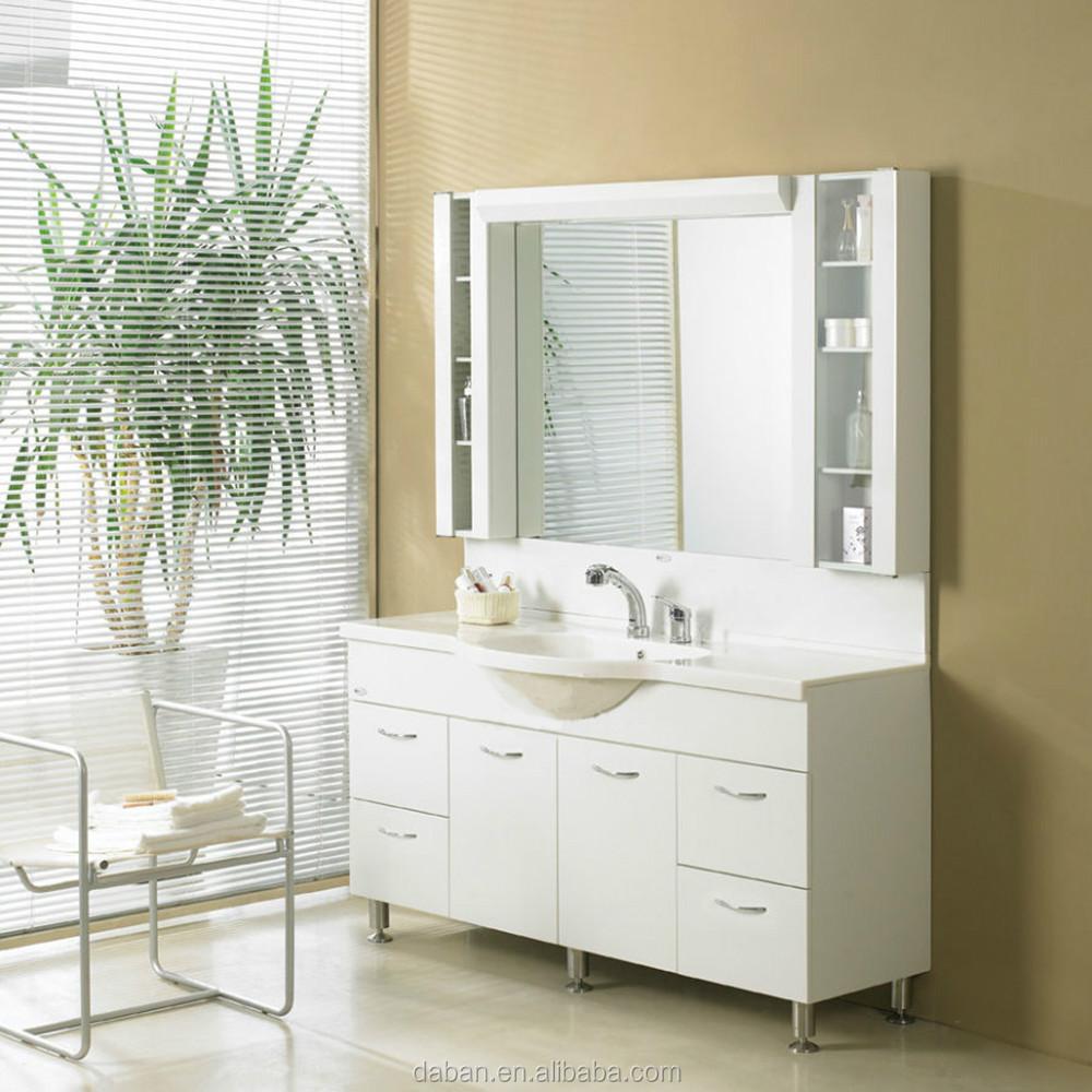 Waterproof wood bathroom cabinet vanity india style in for Waterproof bathroom cabinets