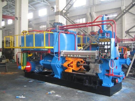 metal extruder machine