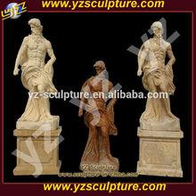 outdoor antique religious man statue for sale