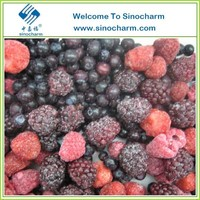 Strawberry Raspberry Blackberry Blueberry Mixture IQF Mixed Berry