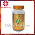 la belleza natural de la salud y extractos de aloe productos de aceite de aloe cápsulas de gelatina blanda