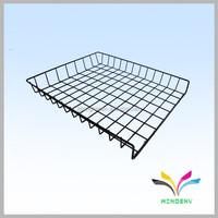 Supermarket used stainless steel wire mesh grid rack