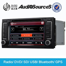 Audiosources 2 din car dvd for Toureg,VW Multivan with can-bus,climate display,bluetooth,HD 1080P video,3G 1.2GHZ CPU(AS-710)