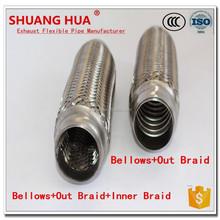 stainless steel 2.5 exhaust muffler air car exhaust muffler
