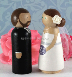 wholesale fashion wedding decorative peg doll