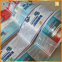 custom printing logo adhesive tapes wall stickers