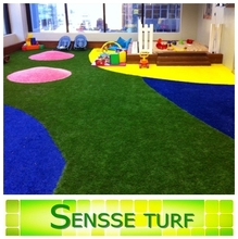Colorful Residential Artificial Turf Grass for Landscaping