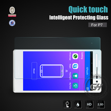 hc anti blue light tempered glass screen protector for huawei with 0.3mm 2.5d