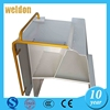 Weldon metal swing frame for garden swing chair frame aluminum metal case metal clutch frame shell