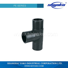 2015 factory price high quality PE pipe fitting Plastic Tubes industrial sewage treatment plant