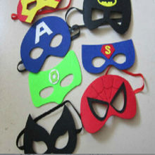 M048 fashin animal children decoration party superhero mask