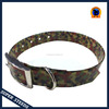camouflage army dog collar for training