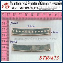 Metal buckle for garment/bag/shoes