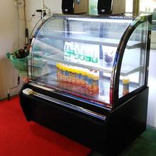 Big Sale 1.2M 400L open display fridge, mini display fridge, display counter fridge(ZQ-12BC01)