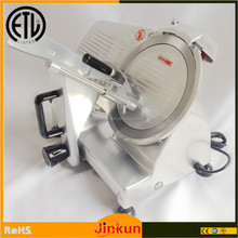 "250mm 10""Inch Semi-automatic Cooks Mini Manual Frozen Meat Slicer"