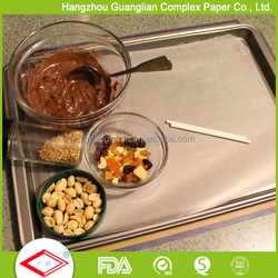 printed greaseproof baking parchment paper for cake pan