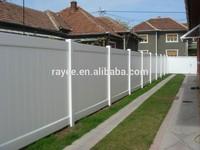 ASTM Certified & Lifetime Warranty 100% New White / Grey / Brown Vinyl Fence Boards