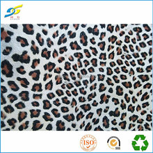 1.2mm Leopard grain pu leather for shoe (xlx527)