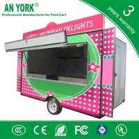 FV-55best coffee food vending cart mobile food truck for sale food kiosk for sale