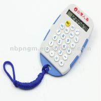 8 Digit Memorable Outdoor Promotional Calculator with Lanyard