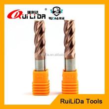 HRC 55 cnc square flute carbide end mill carbide cutting tool manufacturer