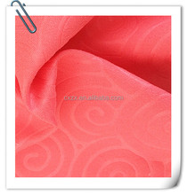 hot sale cheap polyester embossed fabric for textile