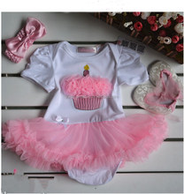 ShuangTong-246 New Dsign baby suit, headband, clothesskirts, shoes 3 times