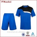azul 2015 nuevo diseño de moda de ropa de deporte en blanco del equipo de fútbol jerseys