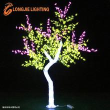 Decoración del árbol iluminado