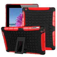 Cheap goods from china Slim armor kickstand pc tpu hard cover case for ipad 4 / 3 / 2 china price