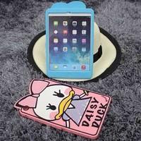 Lovers cute silicone case for ipad mini