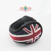 jaquard UK flag knitting ear muffs