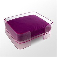 cheap lucite acrylic pet dog bed