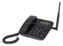 Gran pantalla de teléfono fijo GSM teléfono fijo teléfono inalámbrico con inglés español o portugués menú francés fijo celular del teléfono