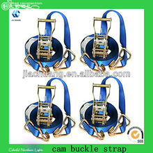 Capacity from 500 daN to 10000 daN cargo lashing strap belt