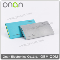OEM professional custom portable universal 3000mah cell phone mobile slim power bank
