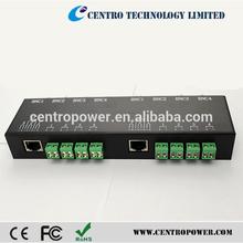 Accesorios CCTV 8CH 330 m Video Balun <span class=keywords><strong>BNC</strong></span> a RJ45 Convertidor Transmisor video pasivo <span class=keywords><strong>de</strong></span> vídeo convertidor digital a analógico