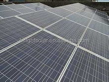 Photovoltaic panel 10W-300w also called polycrystalline solar panel for large solar power plant