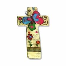 Wooden Cross Shape Antique Sign Board