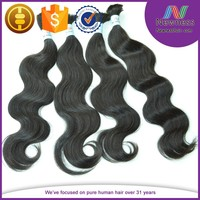 2015 new products 6A quality Alibaba cheap wholesale high quality brazilian hair weave, hair weave in bulk