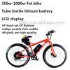 500w fat bike three wheel electric motor bike for sale