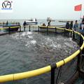 círculo de la acuicultura flotante de pescado jaulas de cultivo de hecho del pe sin nudos neto
