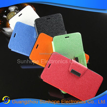 2015 Hot Selling Wallet Leather Credit Slot Case Cover for miui xiaomi redmi 2 3 case