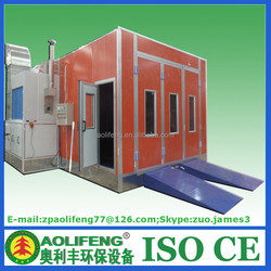 Export Used Car Paint Booth for Sale