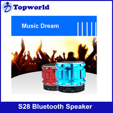 2015 Hot!! Smart Mini Bluetooth Speaker S28 Support TF Card Built in Microphone with High Quality Sound Effect