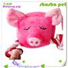 Mahjong pig plush squeaker pet toy,plush toys pug dog