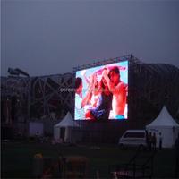 tableau de bord de baseball futball full color p10 stadium led tv screens