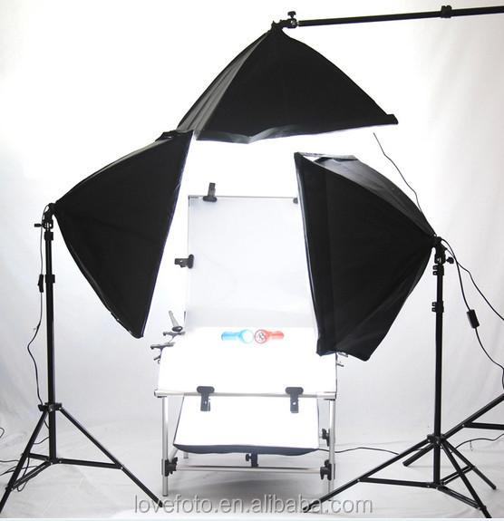 Photography Shooting Kit 12.jpg  sc 1 st  Alibaba & Photography Photo Studio 60x130cm Shooting Table Four Soft Box Set ...