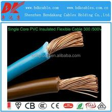 flexible electric wire flexible single core cable insulated flexible cable 4sq mm flexible fireproof wire flex single core cable