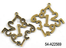 47*48.5mm alloy figure pendant